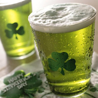 St. Patrick's Day Beer Stains